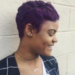 Pretty purple via @salonchristol
