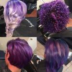 Gorgeous purple @hairbyjoya
