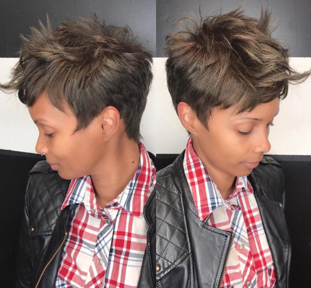 Nice Cut By Msklarie Black Hair Information