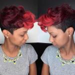 Unique color blend via @msklarie