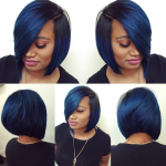 Love this blue by @hairbylatise