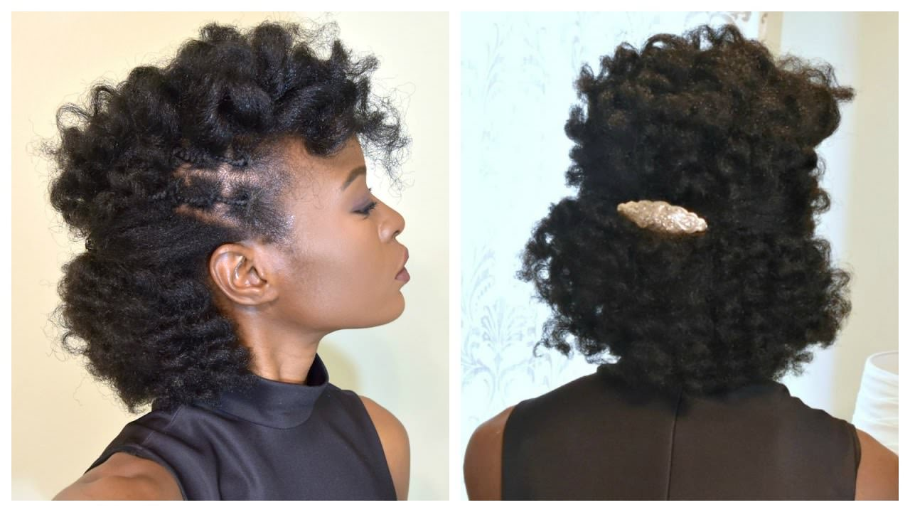 Natural Curls Relaxed Hair