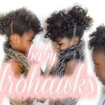 Curly Hair fro hawk Tutorial for Kids