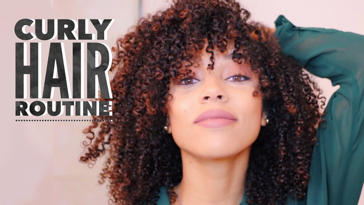 Curly Hair Routine Low Shrinkage Wash Amp Go Video