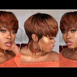 DIY| Copper Pixie Bowl Cut Wig [Video]
