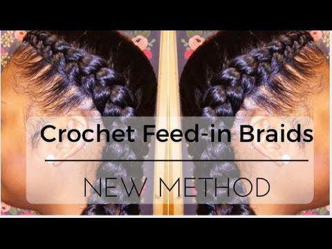Crochet Box Braids For Beginners : Easiest Feed-in Braids? New Method Crochet [Video] - Black Hair ...