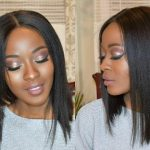 Flirty Middle Part Angled Bob Cut Tutorial [Video]