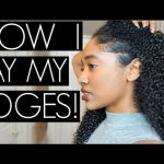 How I Lay My Edges| No Baby Hairs, No Problem! [Video]