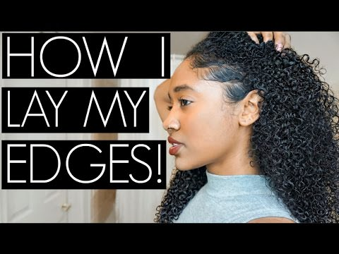 How I Lay My Edges No Baby Hairs No Problem Video
