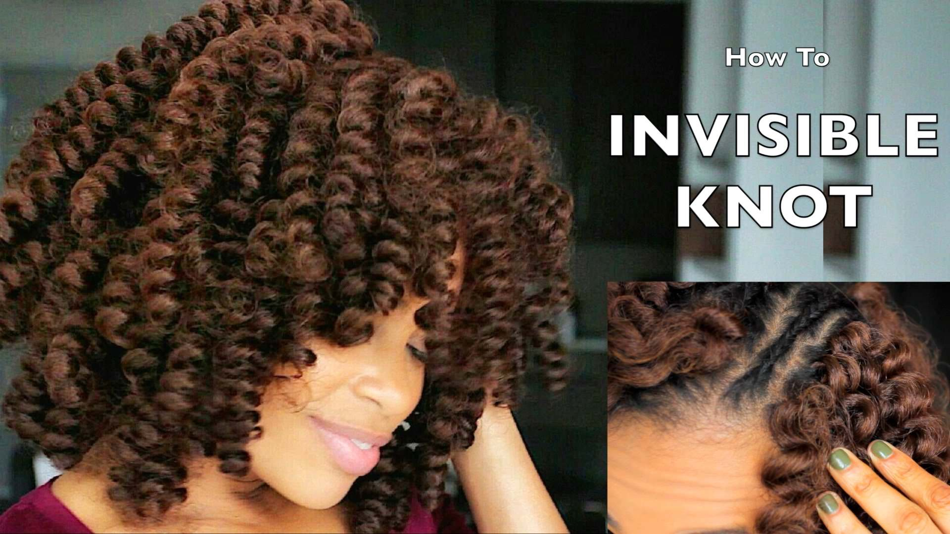 How to Crochet Braids w/ CARIBBEAN BOUNCE curl tutorial - Black Hair ...