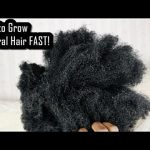 How to Grow Natural Hair FAST! Hacks Every Natural Should Know! [Video]