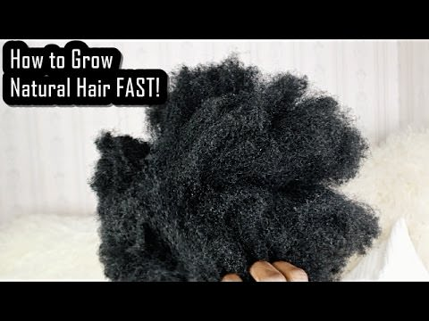How to Grow Natural Hair FAST! Hacks Every Natural Should