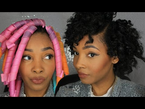 How To Stretch Natural Hair With Curlformers