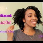 Super Defined Flat TwistOut Tutorial on Natural Hair
