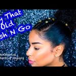 Mositurize Old Wash N Go + A Braided Protective Style [Video]