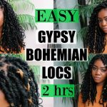 NEW Gypsy Bohemian Locs | Quick & Easy | ONLY 2 HOURS | Carefree Boho Style [Video]