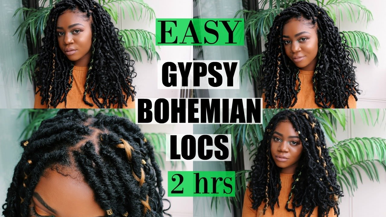 New Gypsy Bohemian Locs Quick Amp Easy Only 2 Hours