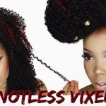 NEW KNOTLESS VIXEN CROCHET BRAID TECHNIQUE + NO LEAVE OUT! [Video]