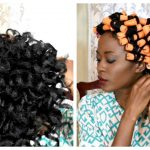 Perm/ Cold Wave Rod Set To Moisturize & Maintain Straight 4c Natural Hair [Video]