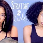 STRAIGHT To CURLY Hair Routine | How I Revert Back [Video]