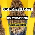 The NEW Goddess Bohemian Locs | NO Cornrows! NO Tension! NO Marley Hair! NO Wrapping! [Video]