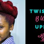 Twisted Bun on Natural Hair | Curly Corner