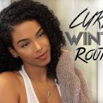 Winter Curly Hair Routine [Video]
