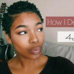 How I Define My Type 4 Curls   TWA [Video]