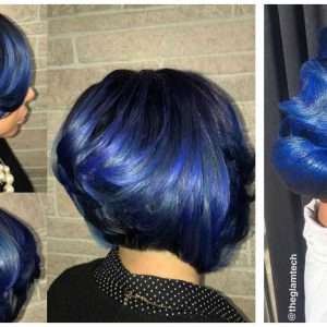 Feeling Blue? – 11 Ways Women Are Adding Blue Into Their Everyday Hairstyle [Gallery]