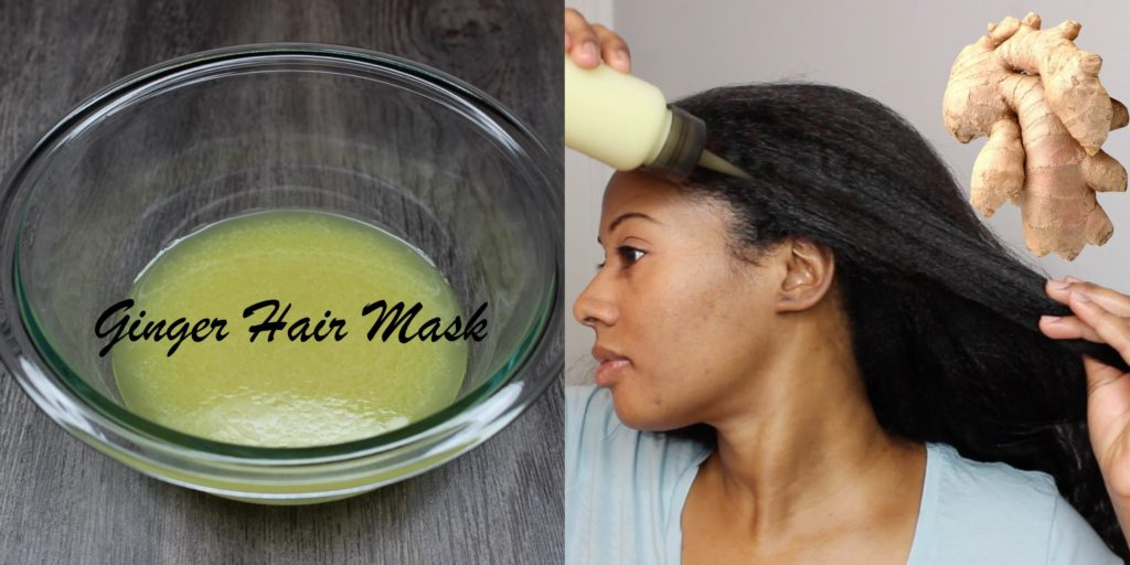How To Make A Ginger Root Hair Mask For Extreme Hair Growth Black