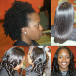 Amazing blow out via @eclectic_vibez