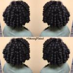 Bouncy curls via @returning2natural