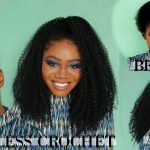 Braidless Crochet Short Natural Hair + 4 Styles |MotownTress 3x Angels Braid Collection Locking Loop [Video]