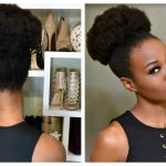 Fake A Big Puff With Clip-ins For 4b And 4c Natural Hair [Video]