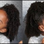 Half Up Half Down Protective Curly Hairstyle Tutorial for Kids [Video]