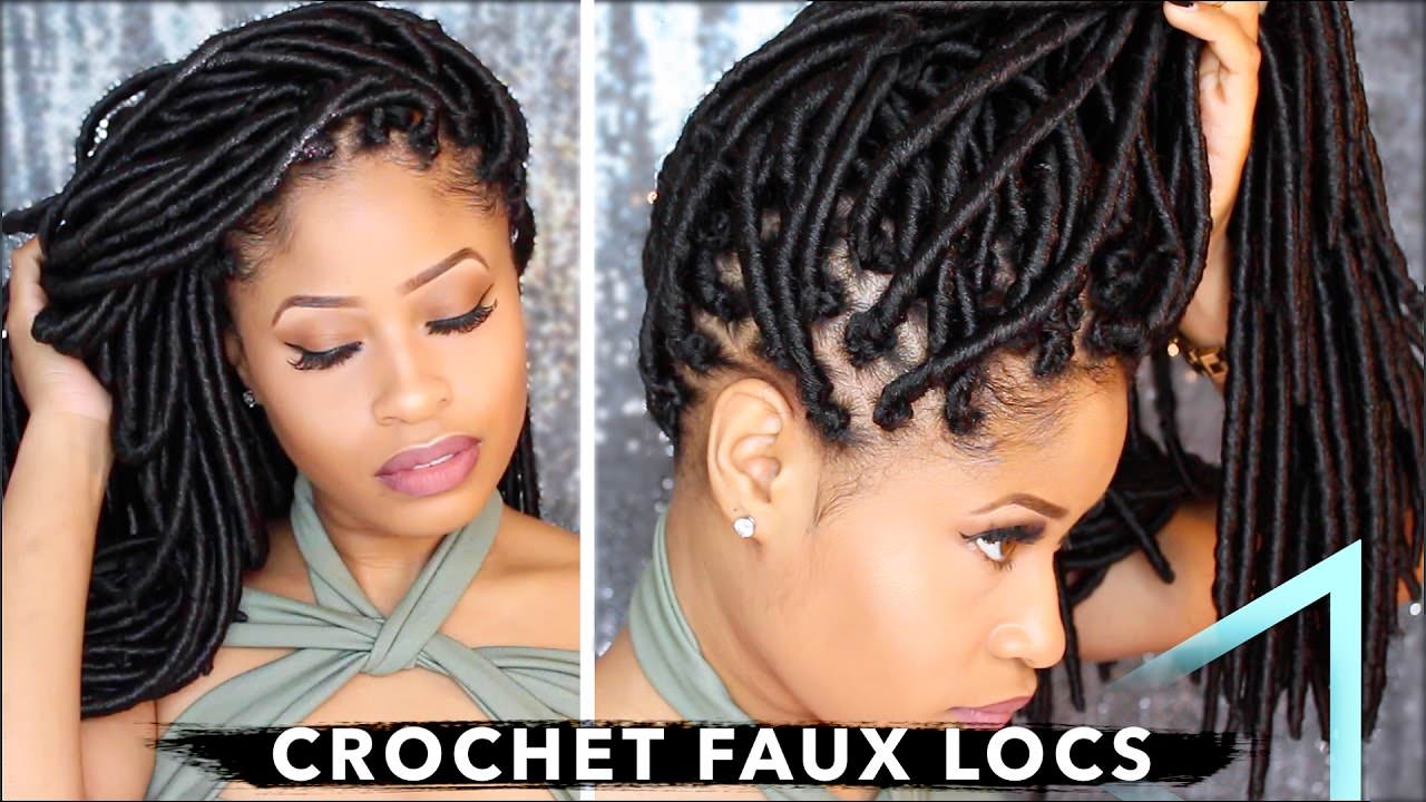How To Crochet Faux Locs No Cornrows No Wrapping