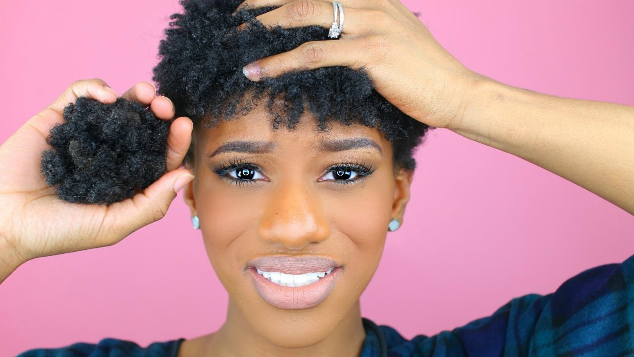 How To Go Natural WITHOUT Doing The BIG CHOP In 4 Easy