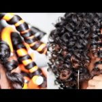 How To: Perfect Flexi Rod Set on Natural Hair [Video]