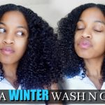 "How To| The Perfect Winter ""Wash and Go""