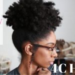 Huge Fluffy Puff On Medium 4C Natural Hair | How-To Tutorial [Video]