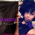 Straight To Curly | Watch my Curls Revert