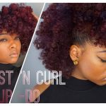 Natural Hair Frohawk Style + Mielle Organics Review [Video]