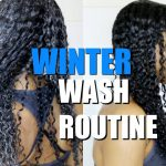 Winter Wash Day Routine on Natural Curly Hair|(DETAILED start to finish) [Video]