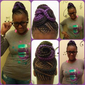 Girls Braids with designs/Color 1485290311313