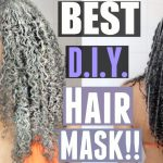 DIY Natural Hair Mask for Healthy Scalp & Hair! [Video]