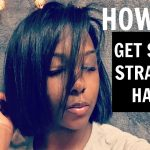 HOW TO: FLAT IRON NATURAL HAIR! [Video]