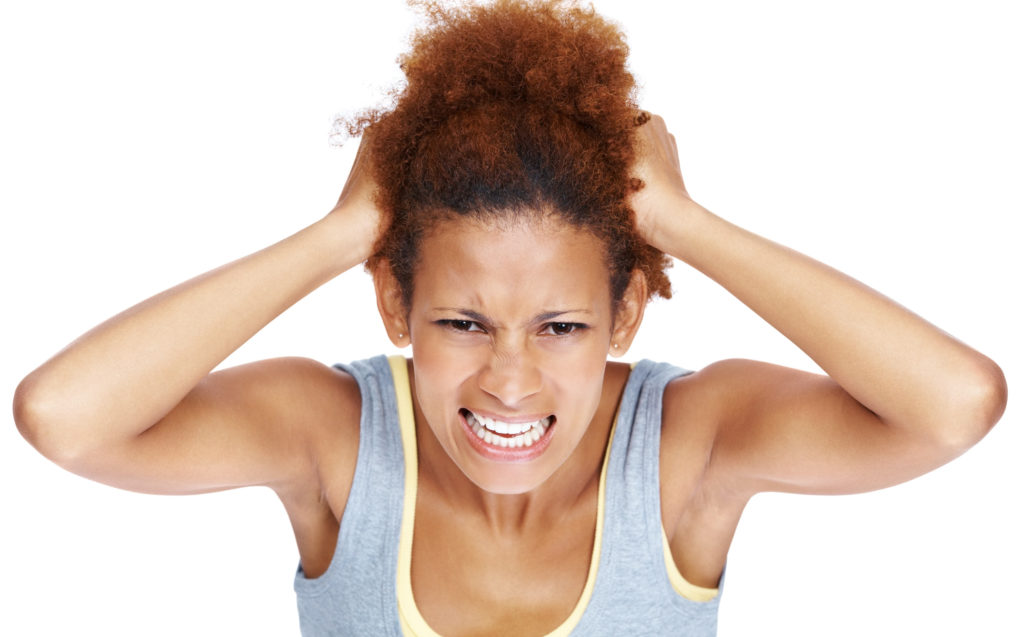 itchy scalp black woman