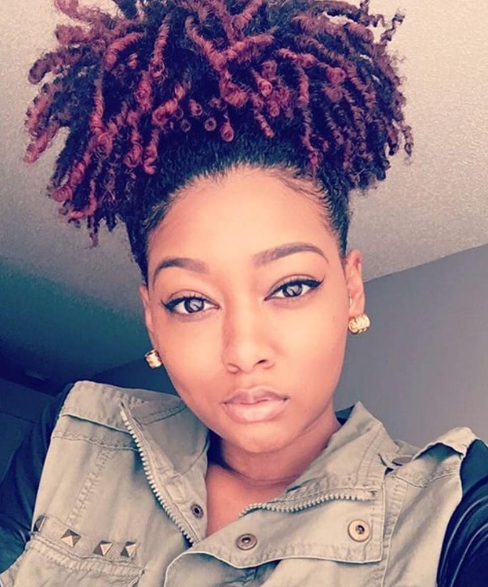 Gorgeous Pineapple Dayelasoul Black Hair Information