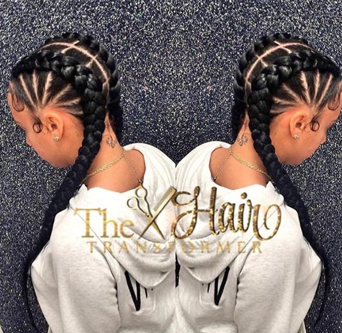 Cute Cornrows Via The Hairtransformer Black Hair