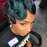 Love this touch of teal by @artistry4gg